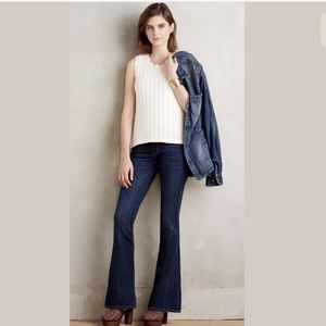 Current Elliot Low Bell Townie Flare Jeans